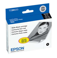 Epson T034820 Matte Black Ink Cartridge Original Genuine OEM