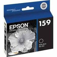 Epson T159820 Matte Black Ink Cartridge Original Genuine OEM