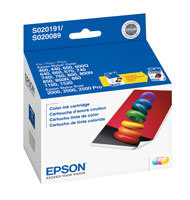 Epson S191089 Color Ink Cartridge Original Genuine OEM