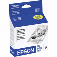 Epson T036120 Black Ink Cartridge Original Genuine OEM