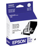 Epson T026201 Black Ink Cartridge Original Genuine OEM