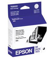 Epson T026201 Black Ink Cartridge Original Genuine OEM