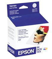 Epson T027201 Five-Color Ink Cartridge Original Genuine OEM