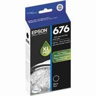 Epson T676XL120 Black Ink Cartridge Original Genuine OEM