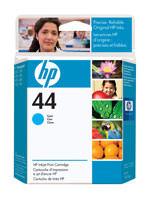 HP 51644C (HP 44) Cyan Ink Cartridge Original Genuine OEM