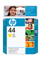 HP 51644Y (HP 44) Yellow Ink Cartridge Original Genuine OEM