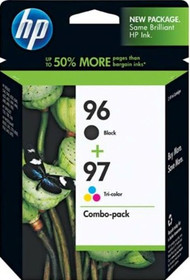 HP C9353FN Black & Tri-Color Inkjet Cartridge Multipack Original Genuine OEM