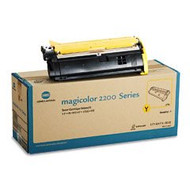 Konica Minolta 1710471-002 Yellow Toner Cartridge Original Genuine OEM