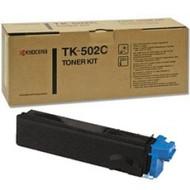 Kyocera Mita TK-502C Cyan Toner Cartridge Original Genuine OEM