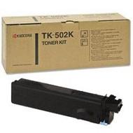 Kyocera Mita TK-502K Black Toner Cartridge Original Genuine OEM