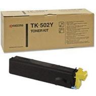 Kyocera Mita TK-502Y Yellow Toner Cartridge Original Genuine OEM