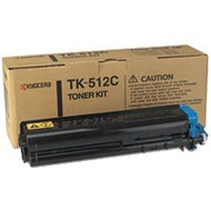 Kyocera Mita TK-512C Cyan Toner Cartridge Original Genuine OEM