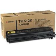 Kyocera Mita TK-512K Black Toner Cartridge Original Genuine OEM