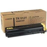 Kyocera Mita TK-512Y Yellow Toner Cartridge Original Genuine OEM