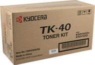 Kyocera Mita TK-40 Black Toner Cartridge Original Genuine OEM