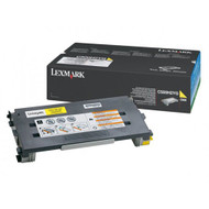 Lexmark C500H2YG Yellow Toner Cartridge Original Genuine OEM