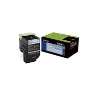 Lexmark 70C1HK0 High Yield Black Toner Cartridge Original Genuine OEM