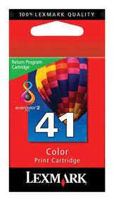 Lexmark 18Y0141 (#41) Return Program Color Ink Cartridge Original Genuine OEM