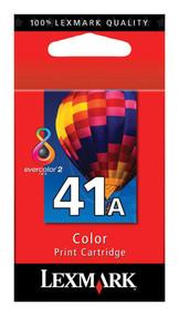 Lexmark 18Y0341 (#41A) High Yield Color Ink Cartridge Original Genuine OEM