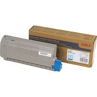 Okidata 45396211 Cyan Toner Cartridge Original Genuine OEM