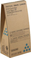 Ricoh 841336 Cyan Toner Cartridge Original Genuine OEM