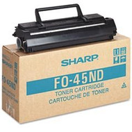 Sharp FO-45ND Black Toner Cartridge Original Genuine OEM