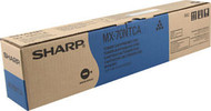 Sharp MX-70NTCA Cyan Toner Cartridge Original Genuine OEM