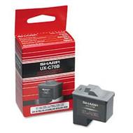 Sharp UX-C70B Black Ink Cartridge Original Genuine OEM