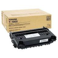 Toshiba T-1900 Black Toner Cartridge Original Genuine OEM