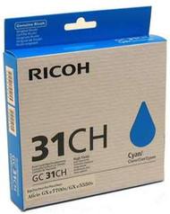 Ricoh 405702 High Yield Cyan Toner Cartridge Original Genuine OEM