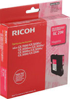 Ricoh 405534 Magenta Ink Cartridge Original Genuine OEM