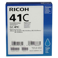 Ricoh 405762 Cyan Toner Cartridge Original Genuine OEM