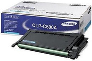 Samsung CLP-C600A Cyan Toner Cartridge Original Genuine OEM