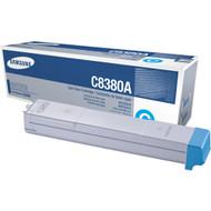 Samsung CLX-C8380A Cyan Toner Cartridge Original Genuine OEM