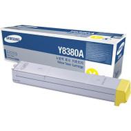 Samsung CLX-Y8380A Yellow Toner Cartridge Original Genuine OEM