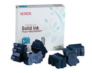 Xerox 108R00746 6 Pack Cyan Solid Ink Sticks Original Genuine OEM