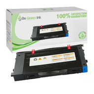 Samsung CLP-510 Series CLP-510D5C Cyan Toner Cartridge BGI Eco Series Compatible