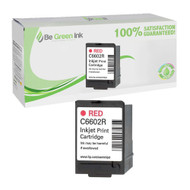 HP C6602R OEM Red Ink Cartridge BGI Eco Series Compatible