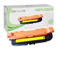 HP CE262A (HP 648A) Yellow Laser Toner Cartridge For Color LaserJet CP4025 / CP4525 BGI Eco Series Compatible