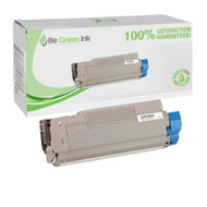Okidata 43324419 Cyan Laser Toner Cartridge BGI Eco Series Compatible