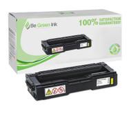 Ricoh 406478 Yellow Toner Cartridge BGI Eco Series Compatible