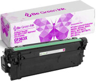 Be Green Ink HP CF363X 508X Magenta Compatible Toner Cartridge  for use in HP m553dn, Color LaserJet Enterprise M552, M552dn, M553, M553n, M553x, HP Flow MFP M557, M557c, M577z, M577f, M577dn - (1 Magenta 9,500 Yield)