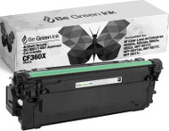 Be Green Ink HP CF360X 508X Black Compatible Toner Cartridge for use in HP m553dn, Color LaserJet Enterprise M552, M552dn, M553, M553n, M553x, HP Flow MFP M557, M557c, M577z, M577f, M577dn