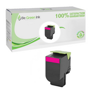 Lexmark 80C1SM0 Magenta Toner Cartridge BGI Eco Series Compatible