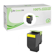 Lexmark 80C1SY0 Yellow Toner Cartridge BGI Eco Series Compatible