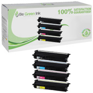 Brother TN433BK , TN433C, TN433M, TN433Y Toner High Yield 4 Pack Savings Compatible