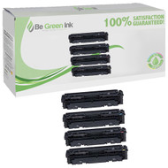 Canon 045H, 1246C001, 1245C001, 1244C001, 1243C001 Toner High Yield 4 Pack Savings Compatible