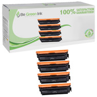 Canon 046H, 1251C001, 1252C001, 1253C001, 1254C001 Toner High Yield 4 Pack Savings Compatible