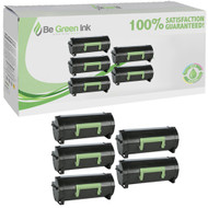 Lexmark 60F1H00,601H Toner High Yield 5 Pack Savings Compliant