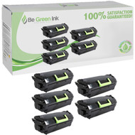 Lexmark 62D1X00,621X Toner Extra High Yield 5 Pack Savings Compliant